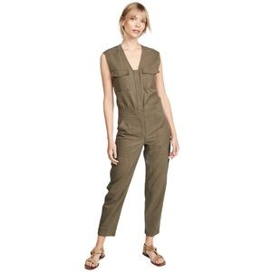 LIKE NEW A.L.C Damien Jumpsuit  Military Green 12